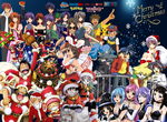 Anime Christmas 2014 by Cokedark11
