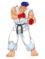 Sf3 Ryu HD by neocargalpha