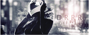 DRRR: Celty - Desaturated by The--Hollow