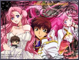 Euphemia x Suzaku wallpaper by MissCath