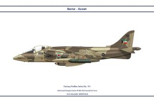 Fantasy 751 Harrier Kuwait by WS-Clave