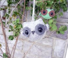 Owl Ornaments 2 by AAMurray