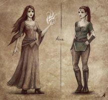 Commision - Alivia Concept by Aerenwyn