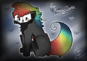 Damon -  Art Trade by YumiTheWolf