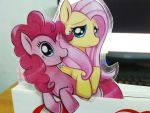 Pinkie pie and fluttershy by Ende26