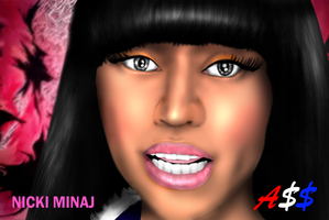 "Nicki Minaj in  ""A$$"" 2 by Ddog04"