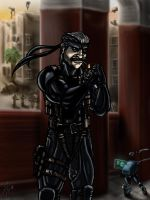 Old Snake by cheddarpaladin