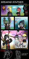 Breaking Routines: Akatsuki Parody by MayaNara