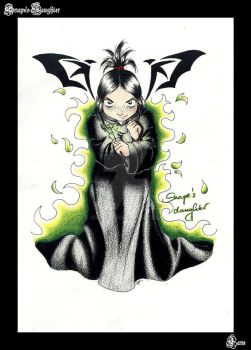 Snape's Daughter by hane