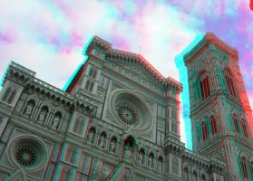 Florence 3D Anaglyph by yellowishhaze