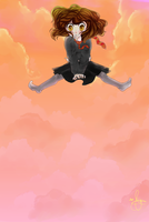 Hermione Jumps by Anante