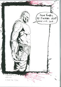 Splatterhouse Comic Concept by Crockard