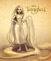 tangled-sketch by anro22