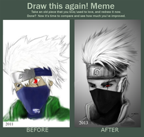 Draw this again! Meme by J-u-m