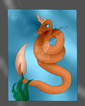 The Snake Of The Sea by Rorrx