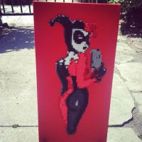 Harley Quinn Bruce Timm drawing by Sulley45635