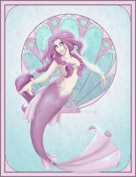 Pink Mermaid by LaTopazora