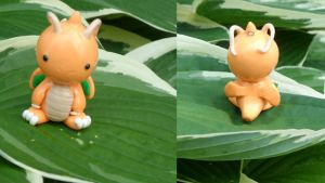 Dragonite Charm by Emmsii