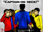 AtlasFanart: Captain on Deck by HakuoBlazer