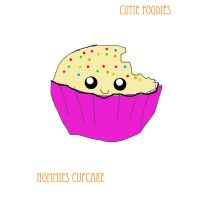 Nommies Cupcake by F-D-G