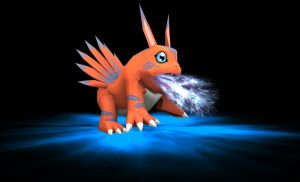 Rigged Elecmon Model by TheDigital6