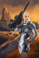 Heroes of the Storm  Nova by T-S-L