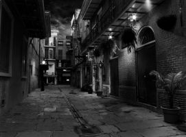 New Orleans: Pirates Alley by TravisPhotographics