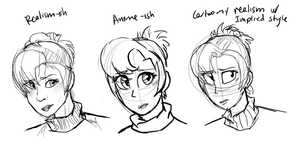 Style Comparisons 2: The Sequel by OatsAndToast