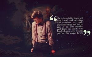 Doctor Who Wallpaper by fengra