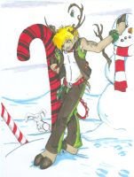 Kyo Reindeer by WitheringDeath