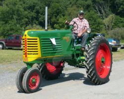 Oliver 66 Tractor by Maggiesdaisy