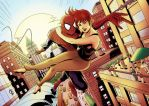 Spider-Man and Mary Jane by shrouded-artist