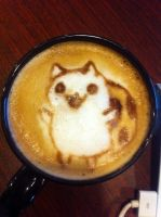 Catbug Latte by Coffee-Katie