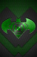 Metalic Super Batman Green Lantern background by KalEl7