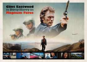 Magnum Force poster by mruottin