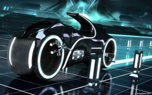 TRON Light Cycle by Aqualon