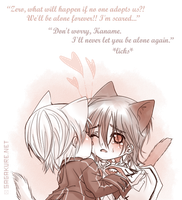 Lonely kitties: Zero x Kaname by Sagakure