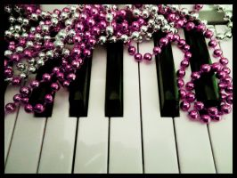 beaded chords2 by misscharmed