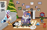 Ikarishipping christmas by Nightmare-Moon-L135