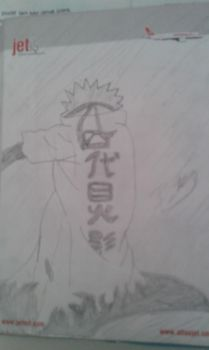 Uzumaki Naruto (Just Like His Father)(Traditional) by BKASSASSIN