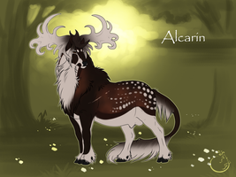 Alcarin I Stag I  Commoner by WolfsMoon1