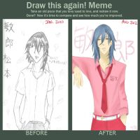 Draw This Again- Toshirou Matsumoto by NayrusLove16
