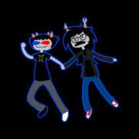 Sollux, put me DOWN by TheGoldenCrowbar