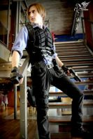 Leon Kennedy Re 6 outfit (improvisation) by AxelKennedy1993