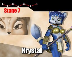 SSBB vs Krystal by DarkStory