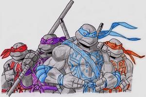 Grid Turtles by CrystalXanadu