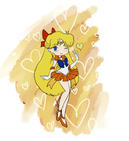 Chibi Sailor Venus by EternalGraveDancer