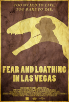 Bat Country - Fear and Loathing in Vegas Poster by disgorgeapocalypse