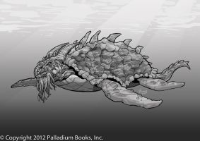 Dragon Turtle by Mumah