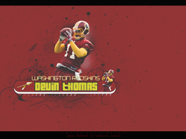 Devin Thomas Wallpaper Red by KevinsGraphics